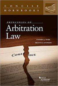 KU Law, Professor Stephen Ware Arbitration book